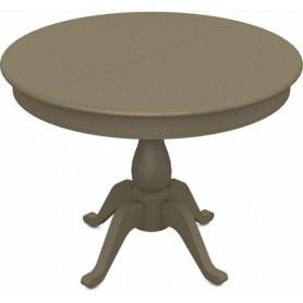 Обеденный раздвижной стол Фабрицио-1 исп. Круг 820, Тон 40 (Морилка/Эмаль)