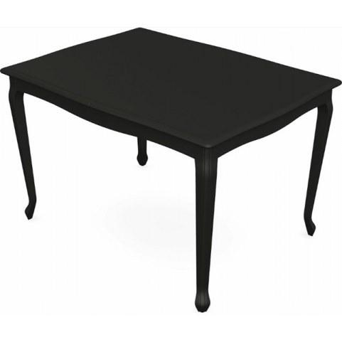 Обеденный раздвижной стол Кабриоль 1400х800, тон 12 (Морилка/Эмаль)