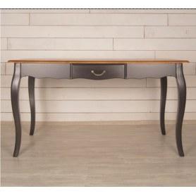 Кухонный стол Leontina с ящиком (ST9337MBLK) Черный