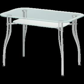 Обеденный стол В-2 mini металлик, без рисунка
