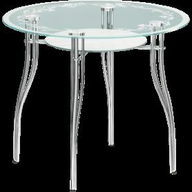 Обеденный стол В-1 хром, рисунок №2
