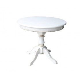 Кухонный стол Милорд 90х120, Слоновая кость+Патина золотро