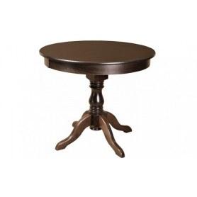 Кухонный стол Милорд 90х120, Орех + Патина