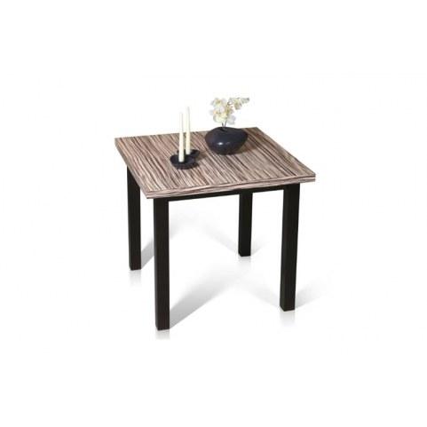 Обеденный раздвижной стол Москва Зебрано/Венге 120 см