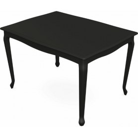 Обеденный раздвижной стол Кабриоль 1200х800, тон 12 (Морилка/Эмаль)