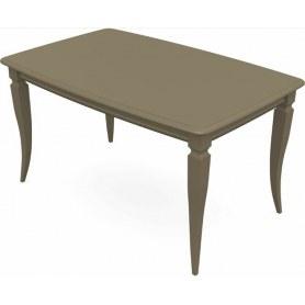 Обеденный раздвижной стол Сибарит 160х90, тон 40 (Морилка/Эмаль)