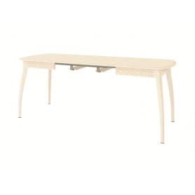 Обеденный стол Орфей 35.10, крем-патина бежевая