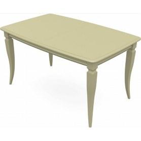 Обеденный раздвижной стол Сибарит 160х90, тон 10 (Морилка/Эмаль)