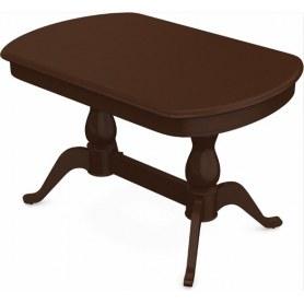 Обеденный раздвижной стол Фабрицио-2 исп. Мыло 1600, Тон 3 (Морилка/Эмаль)