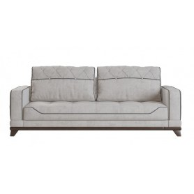 Прямой диван Савой, Велюр Lama 01 Stone