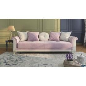 Прямой диван Кристиан, велюр Velvet Mate 712/702