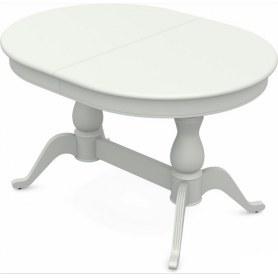 Обеденный раздвижной стол Фабрицио-2 исп. Овал 1600, Тон 9 (Морилка/Эмаль)