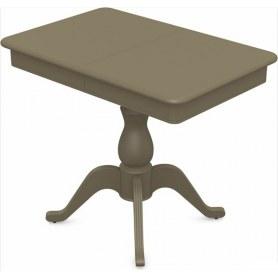 Обеденный раздвижной стол Фабрицио-1 исп. Мини 1100, Тон 40 (Морилка/Эмаль)