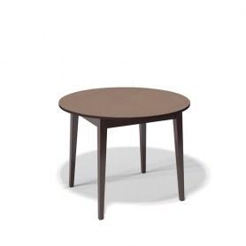 Кухонный раздвижной стол Kenner 1000M (Венге/Стекло капучино сатин)
