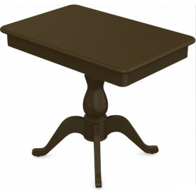 Обеденный раздвижной стол Фабрицио-1 исп. Мини 900, Тон 5 (Морилка/Эмаль)