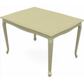 Обеденный раздвижной стол Кабриоль 1400х800, тон 10 (Морилка/Эмаль)