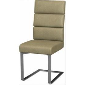 Обеденный стул Фьюжн нерж сталь (Richie Caramel)