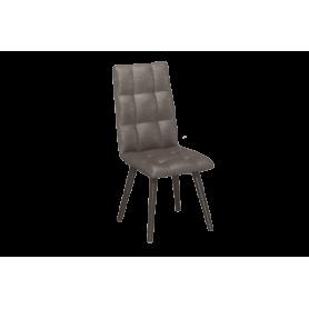 Обеденный стул Ричард с цилиндрическими опорами (Сафари Стоун/Венге)