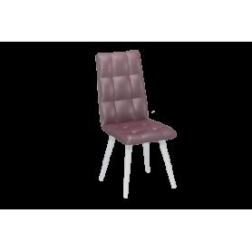 Обеденный стул Ричард с цилиндрическими опорами (Альфа 13/Белый)
