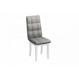 Обеденный стул Ричард с резными опорами (Лекко Графит/Белый)