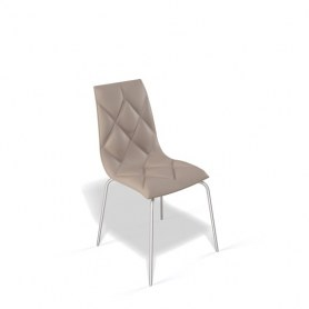 Кухонный стул Kenner 108S хром/капучино