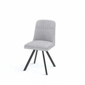 Кухонный стул Kenner 122s черный/серый
