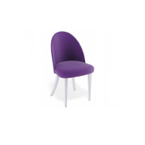 Кухонный стул Kenner 144M белый/фиолетовый 38