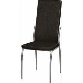 Обеденный стул Мартини хром (Африка 04)