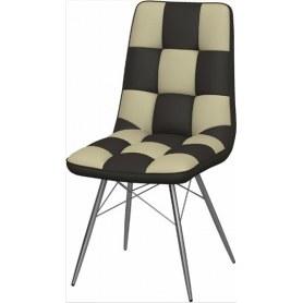 Обеденный стул Бордо-2 2-х цветный (Nitro Brown - Cream)