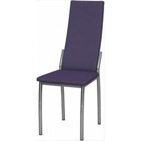 Обеденный стул Асти хром (Nitro Violet)