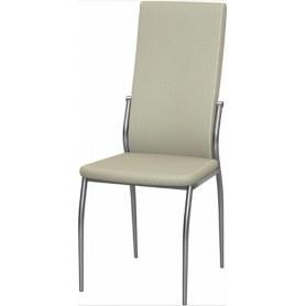 Обеденный стул Мартини хром (Punto Cream)