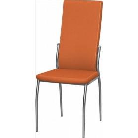 Обеденный стул Мартини хром (Nitro Orange)