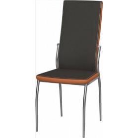 Обеденный стул Мартини 2-х цветный окраш (Nitro Brown - Orange)