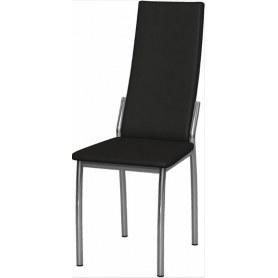 Обеденный стул Асти хром (Ottawa Black)