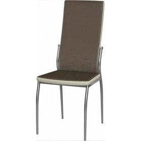 Обеденный стул Мартини 2-х цветный окраш (Asus Coffee - Cream)