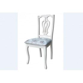 Обеденный стул Милорд  1, Слоновая кость+патина золото