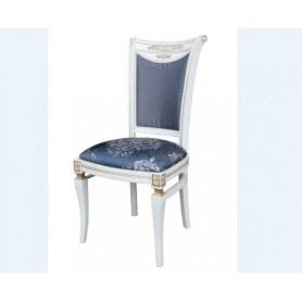 Обеденный стул Милорд  11, Слоновая кость + патина золото