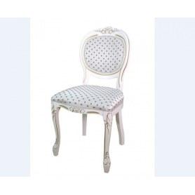 Обеденный стул Милорд  12, Слоновая кость + патина золото