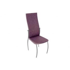 Обеденный стул Комфорт-М, цвет Эмаль Бриллиант, Микрофибра Фиолетовый