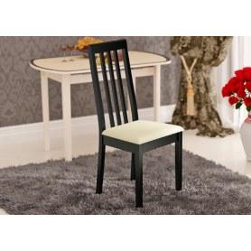 Обеденный стул Гамма Т1, цвет Венге/к/з №15 светлый
