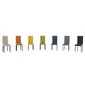 Обеденный стул Ромео, цвет Венге/тк №35 Коричневый/Chocolate Б-535