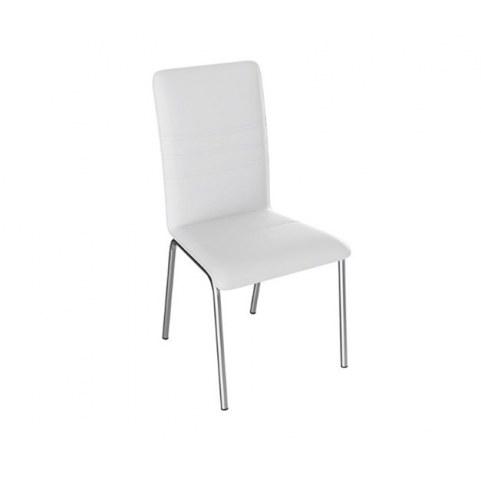 Обеденный стул София, цвет Белый, к/з 124