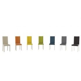 Обеденный стул Ромео, цвет Слоновая кость/тк №37 Желтый/Lemon Б-535