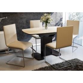 Обеденный стул Марсель, цвет Бежевый, к/з Santorini-0428