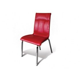 Кухонный стул Комфорт красный