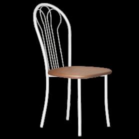 Кухонный стул В-1 б/к, кожзам, коричневый