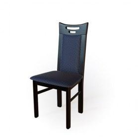 Кухонный стул  Юля Венге/ткань Жаккард синий