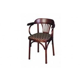 Кухонный стул Венский мягкий (темный тон)