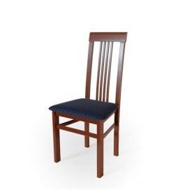 Кухонный стул Алла 01 Орех №2/ткань Жаккард синий