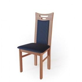 Кухонный стул  Юля Яблоня локарно/ткань Жаккард синий